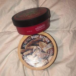 The Body Shop body butter bundle
